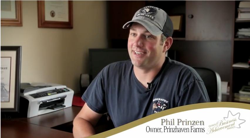Phil Prinzen - 2012 Young Entrepreneur